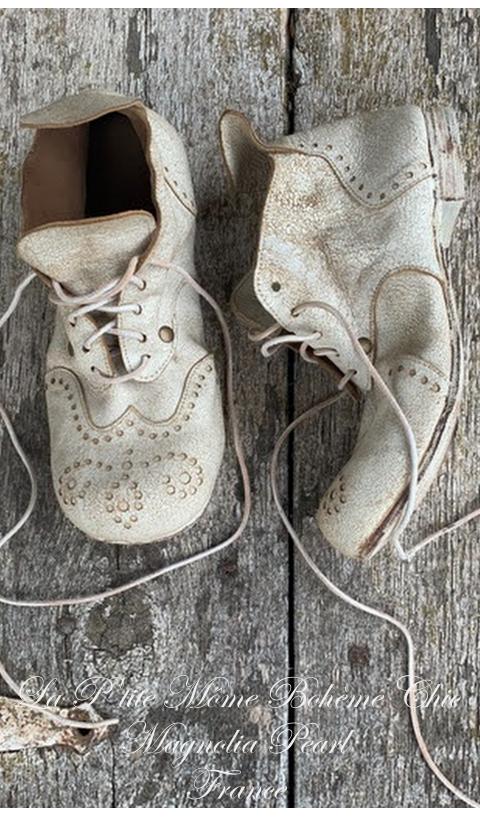 Leon Ray Ankle Chaussures Montantes En Chalk Entièrement En Cuir