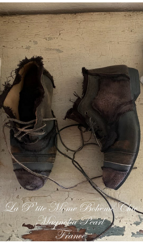 Willard Chaussures Montantes En Ozzy Cuir & Lin