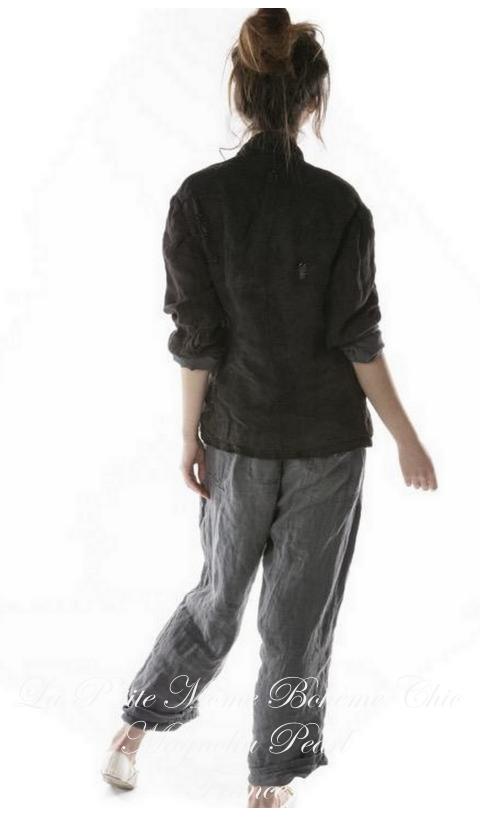 Fenella Jacket With Silk Lining In Midnight