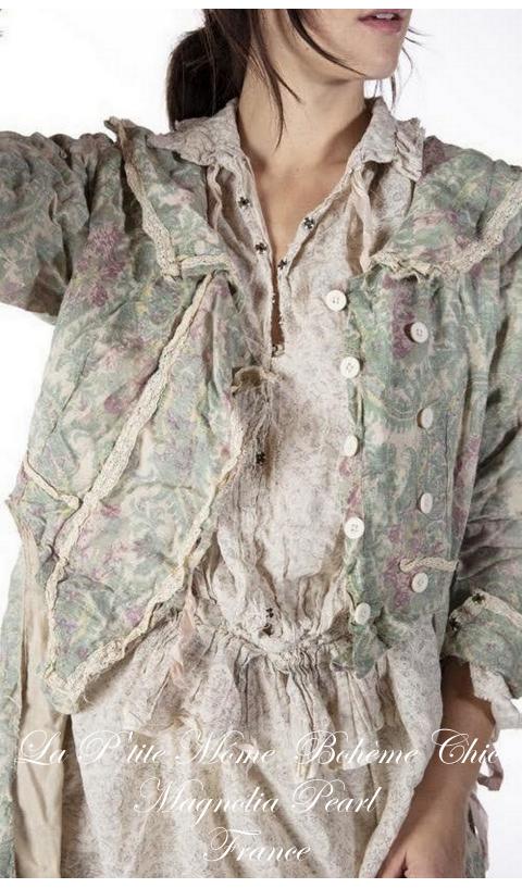 Twill Floral Lyudmila  Jacket A Real Beauty