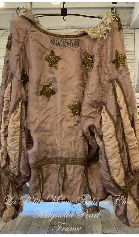 Silk Monique Jacket With Hand Sewn Sequins In Moondust