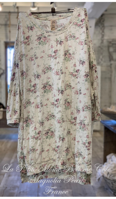 Francis Oversized Pullover Floral Blackberry-Rose...J'adore
