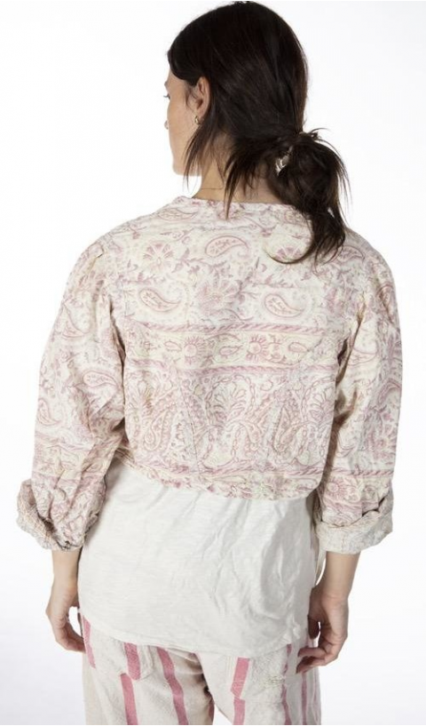 Luiza Jacket In Durga with Antique Hooks, Fading