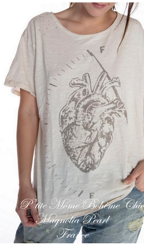 FULL HEART T Top In Moonlight New Boyfriend Cut