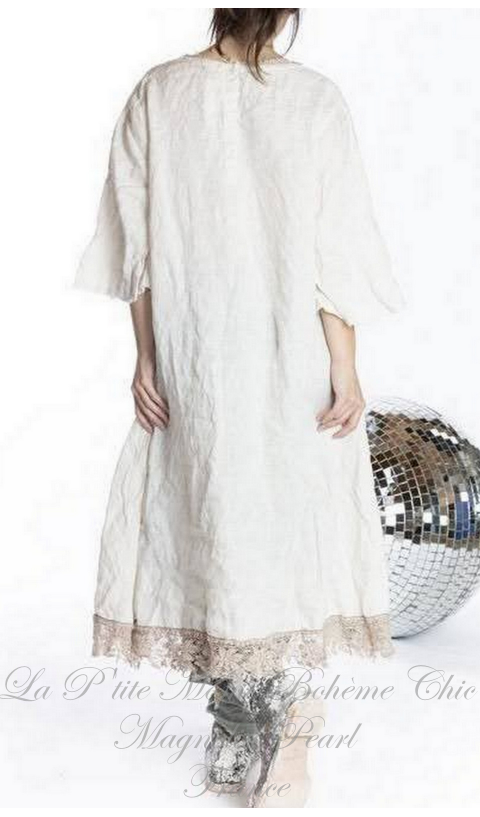 Junipero Jesus Dress Hand Embroidery & Love Applique Patch