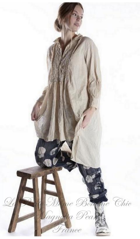 Cordelia Night Shirt En Coton En Moonlight Une Merveille