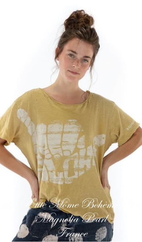 Hang Loose T Top In Marigold New Boyfriend Cut