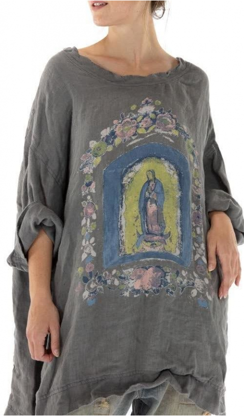 Francis Oversize Pull-Over with MARY NICHO Color Print