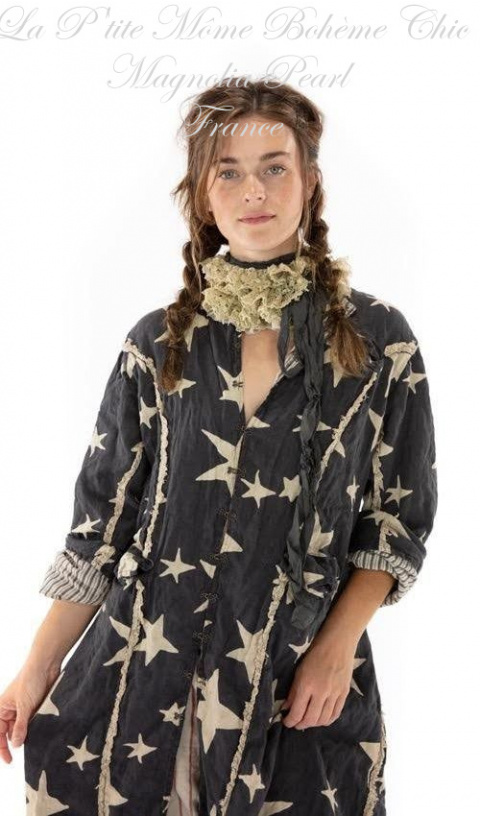 TWIKLE jacket with tattered lace details in Ozzy