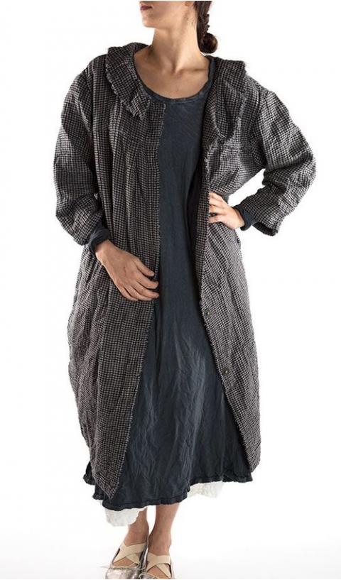 Clancy Lu  Coat in Houndstooth very cute and feminine