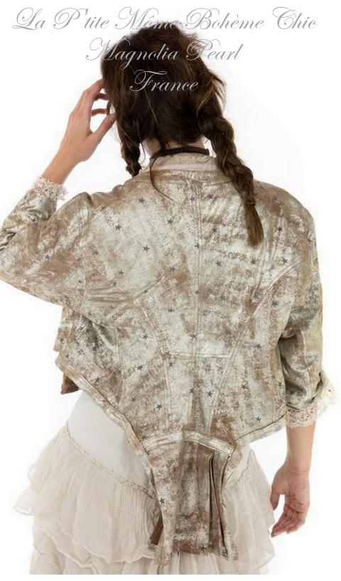INNA jacket leather metallic In Little Dipper