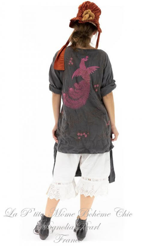 Dragon Parnassus Tunic with Embroidery In Ozzy