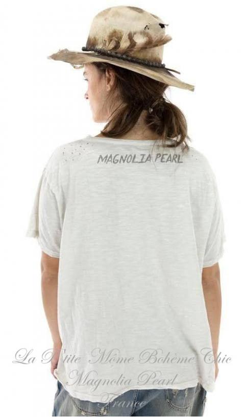 Queen of The Dragonfly Fairies T-Shirt Moonlight Imprimé En Coupe Boy Friend
