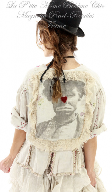 Twill Binky Jacket Embroideries Appliqué & Hand Printed