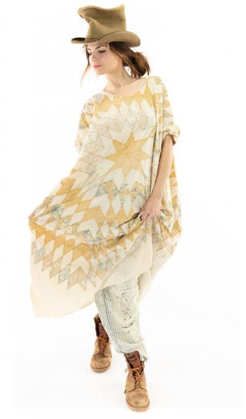 Artist Smock Robe Avec Poches En Marisol Graphique