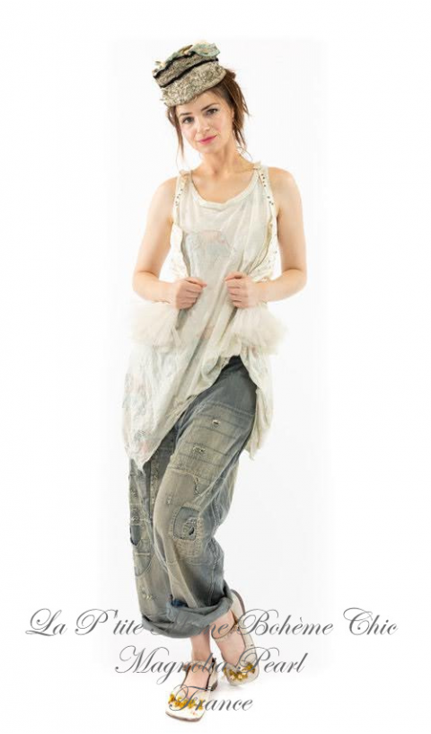 Paz A-line Tank In tumbi in jersey cotton