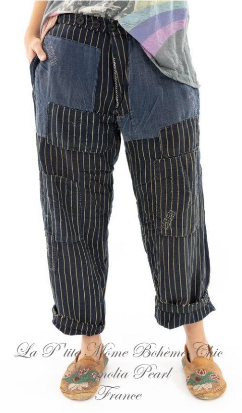 Lilou Trousers In Depot with Patches Loooove Those