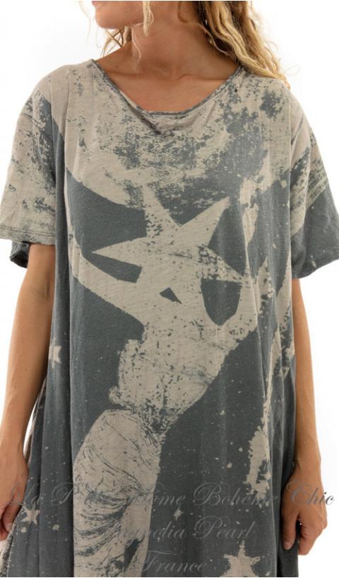 Space-Disco Robe T-Shirt En Ozzy, Coupe Boyfriend