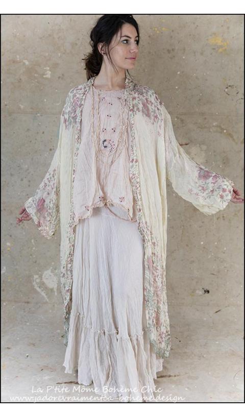 Silk Amoret Skirt in French Vanilla