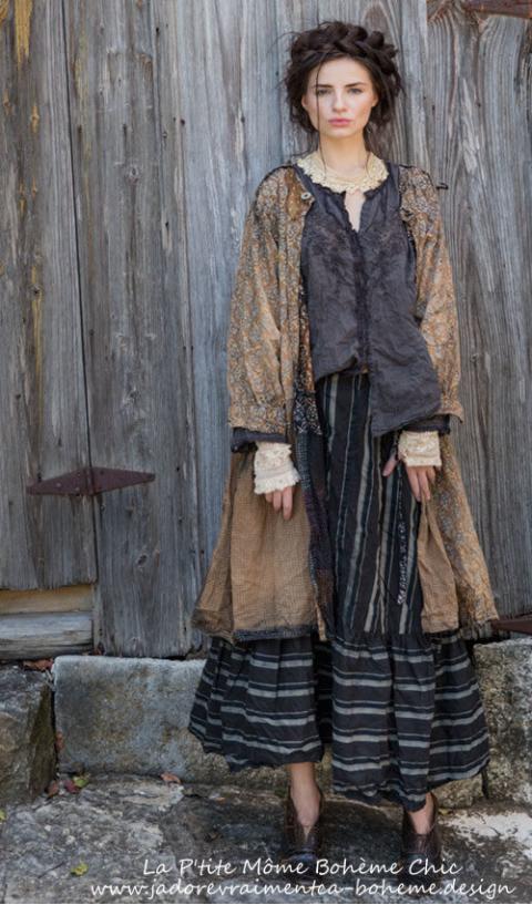 Lani Callaway Superbe Robe ou Redingote