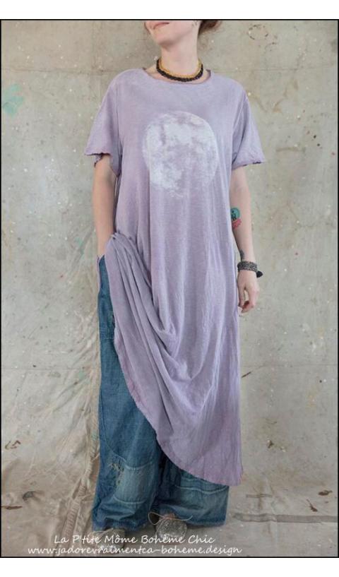 Babydoll Moon Tee Dress