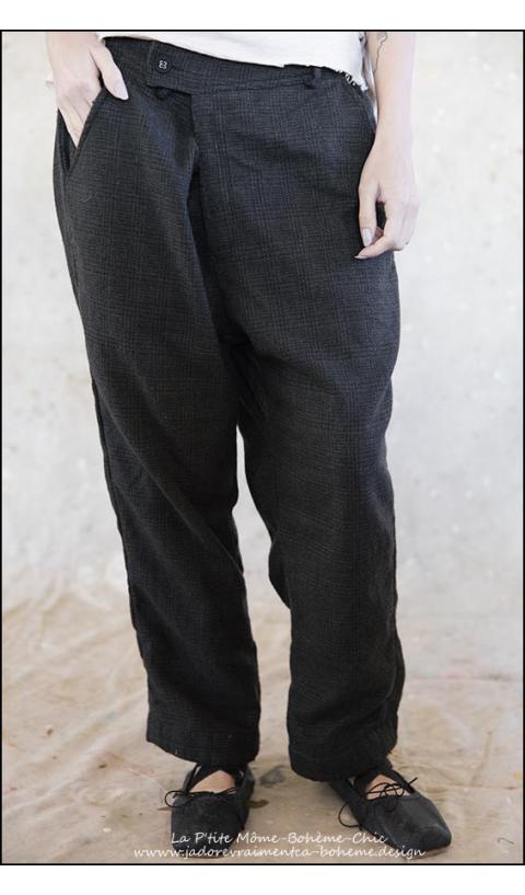 Holmes...Wool Pants....Very Feminine Man Pants