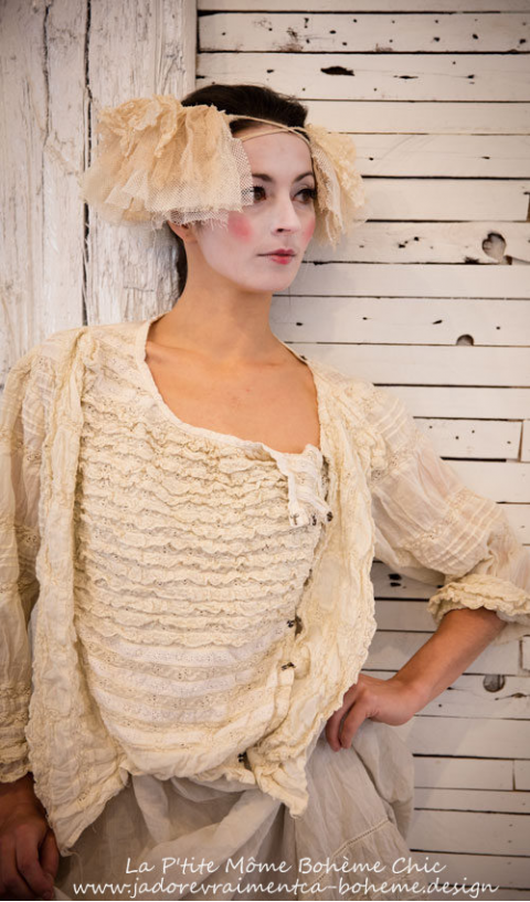 Colette Blouse all in Lace.....Looooove it