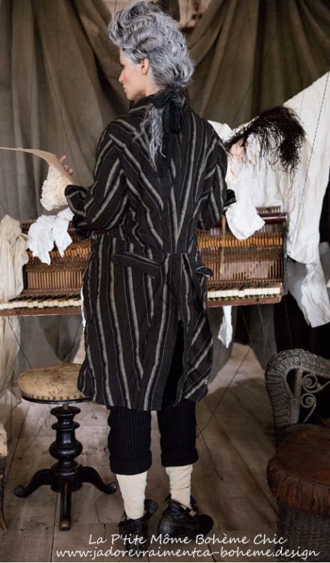 Sidra Tuxedo-Manteau Queue De Pie