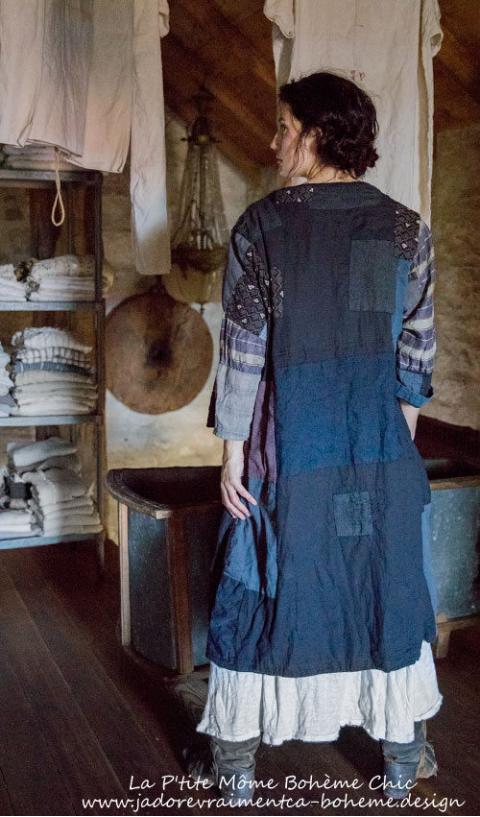 Calicos D'Orsay Est Une Robe -Manteau Comme On Adore