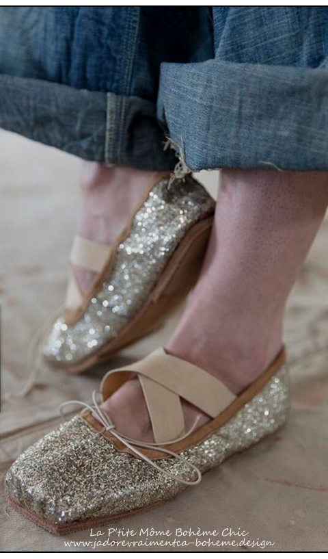 Ballet Stella-Toe en 100% Cuir