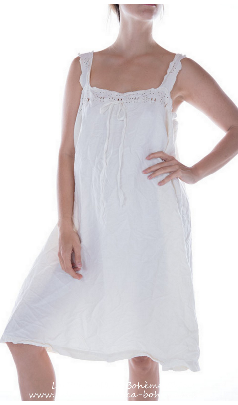 "Cosi Belle Dress in sateen cotton in ""Ringwald"" print"