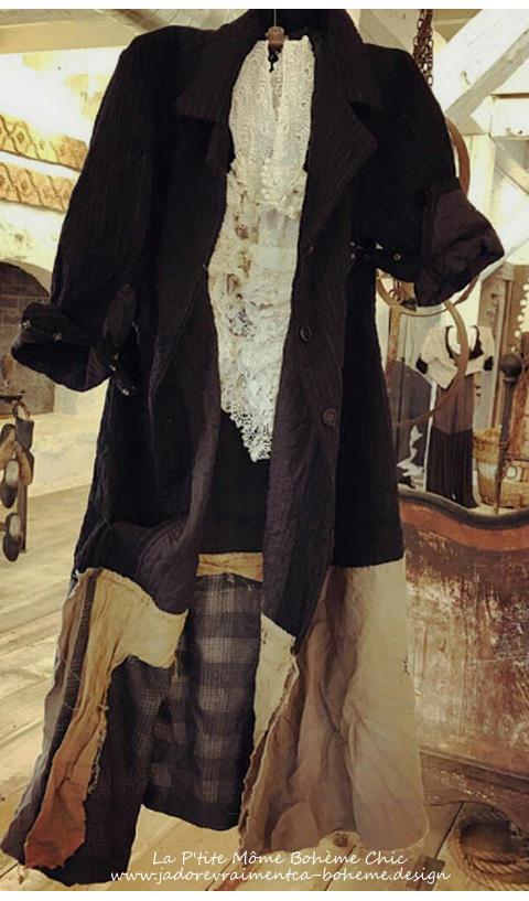 Helena Josephina-Le Manteau à Patch...La Pièce Far de cet Hiver