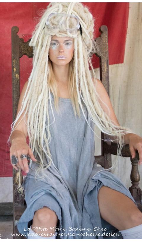 Lana Robe S Manches Blanc-un Super Basic Pour Le Dressing