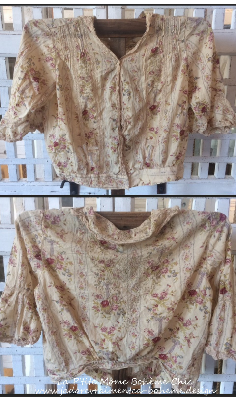 Maelee Blouse With Lace & Embroidery