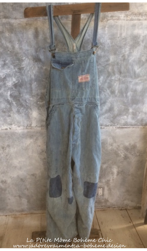 Supply Co. Sanforized Salopette Coton Denim