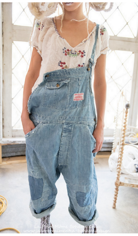 Supply Co. Sanforized Overalls in Cottn Denim