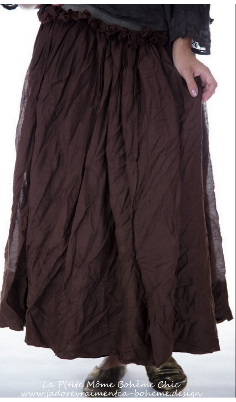 Nathalia Ruffled Wrap Skirt Apron....so Cute