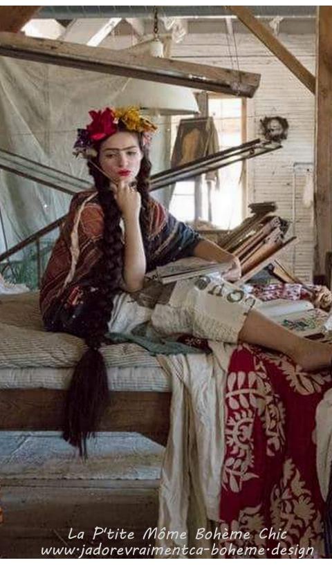 Garcon Frida Kahlo Sarouel