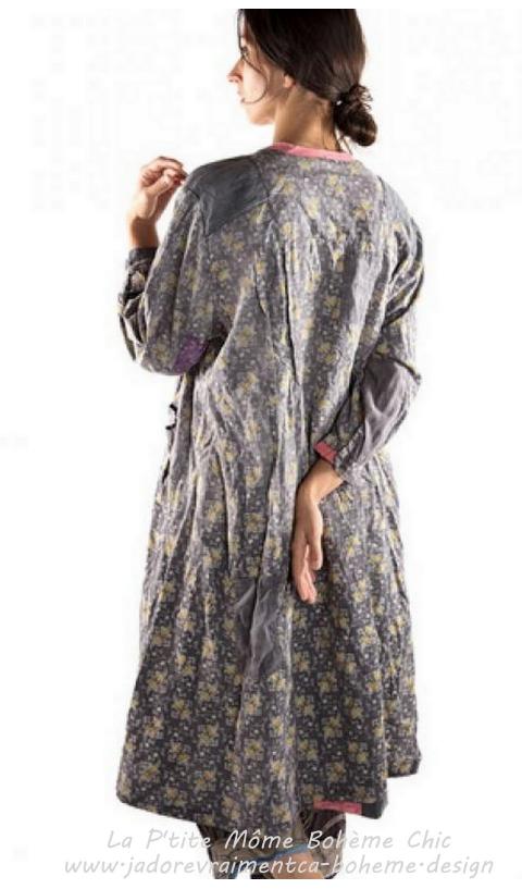 Miela Robe Chemise en Sonora 2 En 1 Robe Ou Redingote