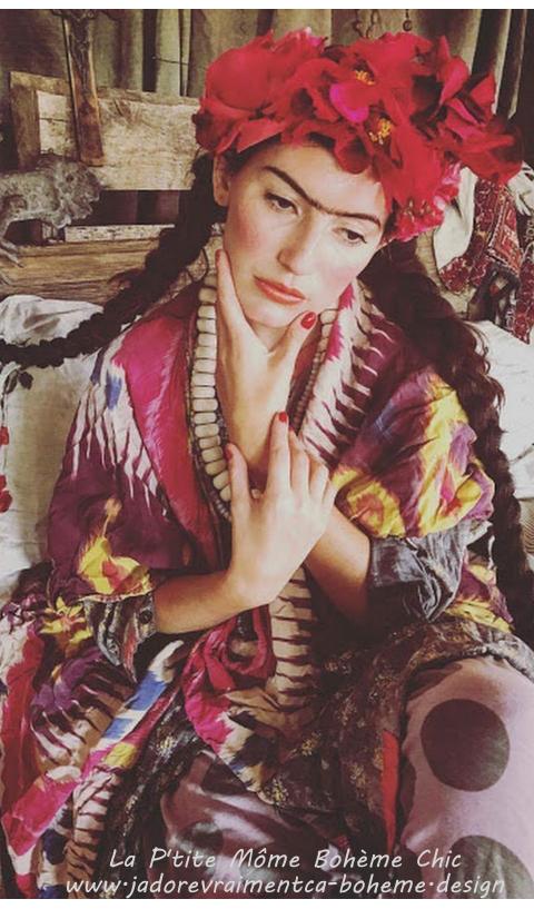 Jaya Kaftan Robe en soie Hendrix