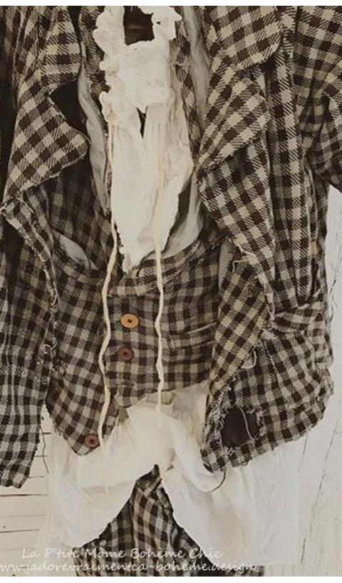 Fagin Veste en Coton Tissé...Masculin au Féminin