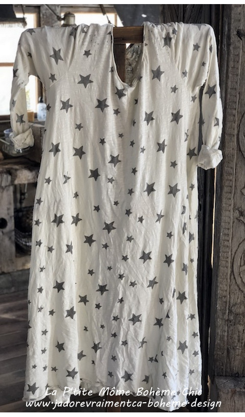 Dylan T Dress Galaxy in Rockstar Cotton Jersey