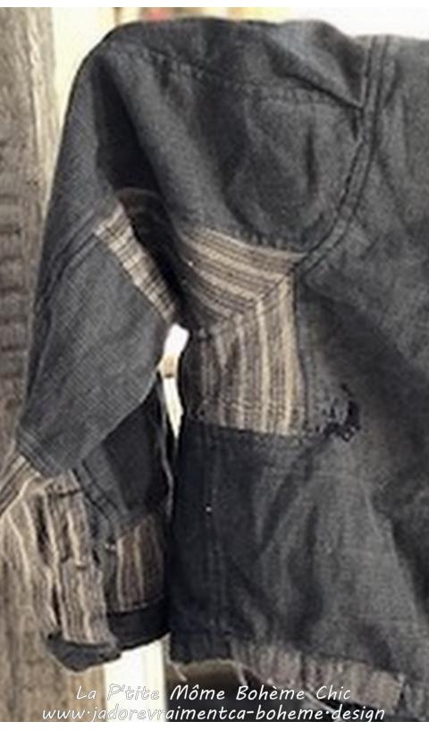 Alva Une Adorable P'tite Veste En Coton Tissé En Wilderness