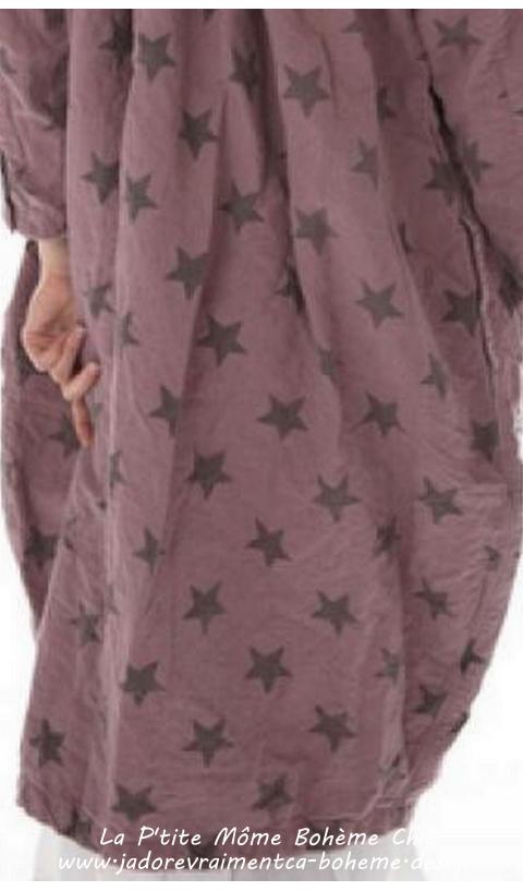 Clancy Lu Manteau lin & Coton En Beautiful Big Dipper Star