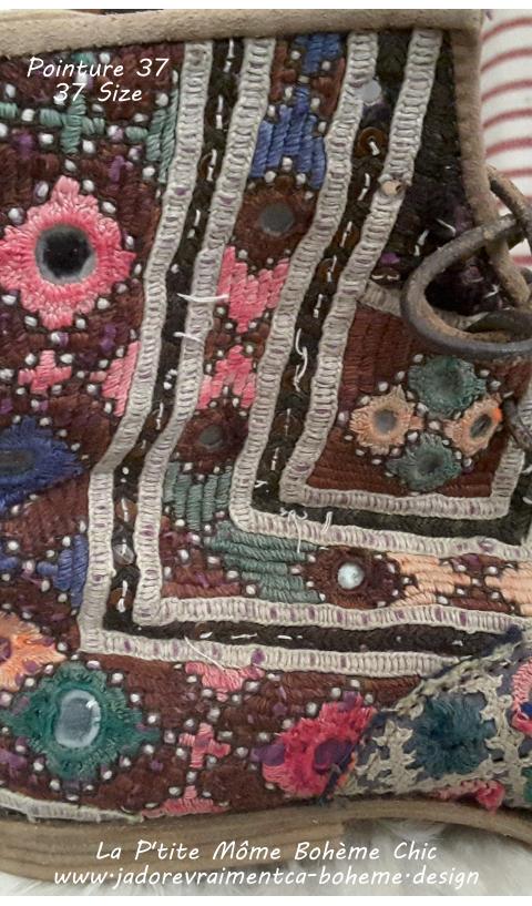 Ethnique Boots Bojangles en 37