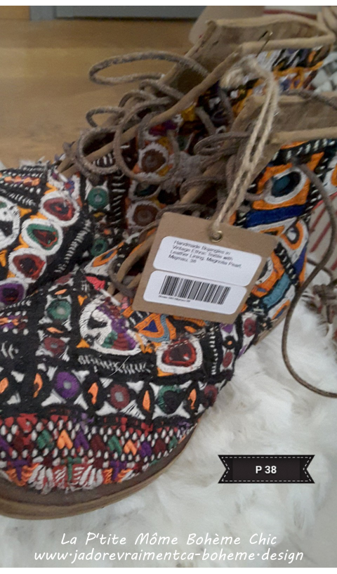 Ethnique Boots Bojangles 38